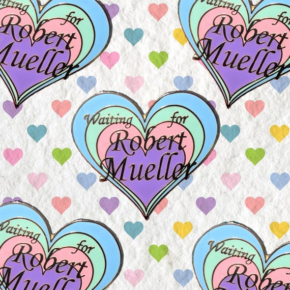 Waiting for Robert Mueller Enamel Pin Pack |  Future is Female Punk Enamel Pin | Nasty Woman | Anti Trump Impeach Bernie Backpack Enamel Pin