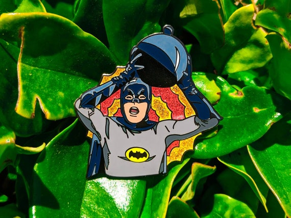 Batman Adam West Pin Justice League Soft Enamel Gotham Pin Punk Enamel Pin Joker Harley Quinn Catwoman  Backpack Enamel Pin comics