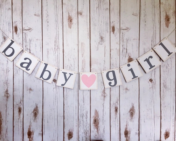 baby girl banner its a girl banner it s a girl banner etsy