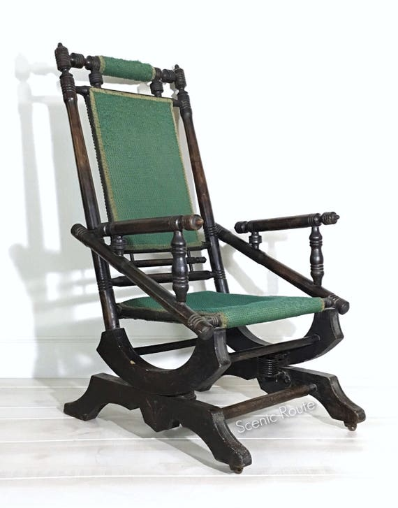 Pleasant Rocking Chair Platform Rocker Antique Rocking Chair Vintage Rocking Chair Victorian Eastlake Gmtry Best Dining Table And Chair Ideas Images Gmtryco