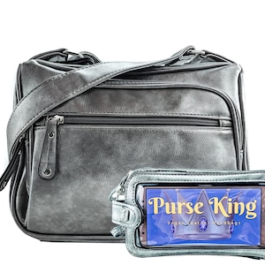 Gift for Her Gift Set: Purse King Pistol CCW Conceal Carry Bag /& Wristlet Organizer Purse Gift for Mom Concealed Carry Handbag Wallet