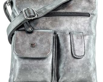 Colt CCW Concealed Carry Crossbody Handbag, Lightweight Conceal Carry, Large Shoulder Bag, Messenger Bag with Adjustable Strap, Monogram Bag