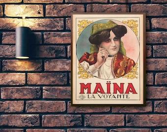Friends Apartment Art - Vintage Posters - Custom Vintage Prints - The Art from Friends - Apartment & Dorm Art - Framed Prints - TV Show Art