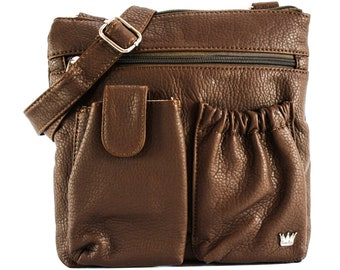 Poppy Organizer Bag, Handbags Organizers, Crossbody bags, Cross body Purses, RFID Blocking Bags, Travel Purse, Bags with Organizers, Purses