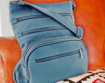 Purse King Gunner Lightweight CCW Bag, Concealed Carry Handbag, Lightweight Conceal Carry, Shoulder Bag, Monogram Bag, Personalized Handbag