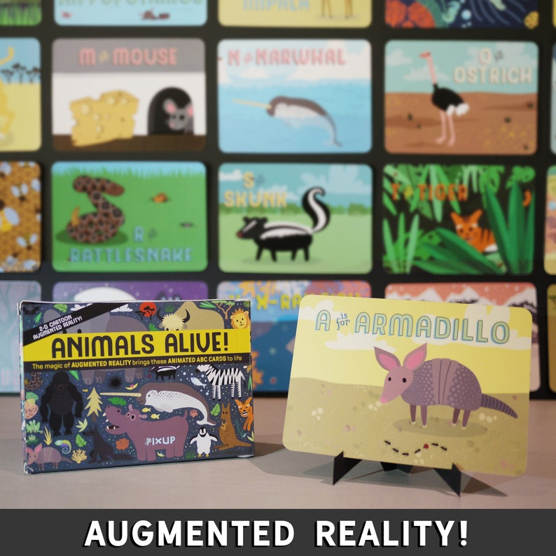 Augmented Reality ABC Cards image 0