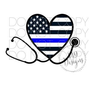 TBL Car Decal Thin Blue Line Love Deputy Decal Deputy Star Handcuffs Gun Baton