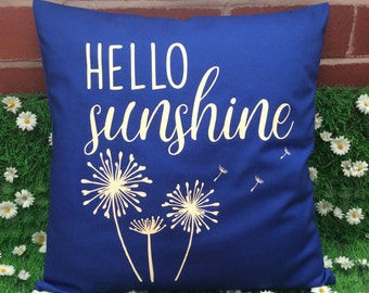 Pillow Cover Smells Like Sunshine