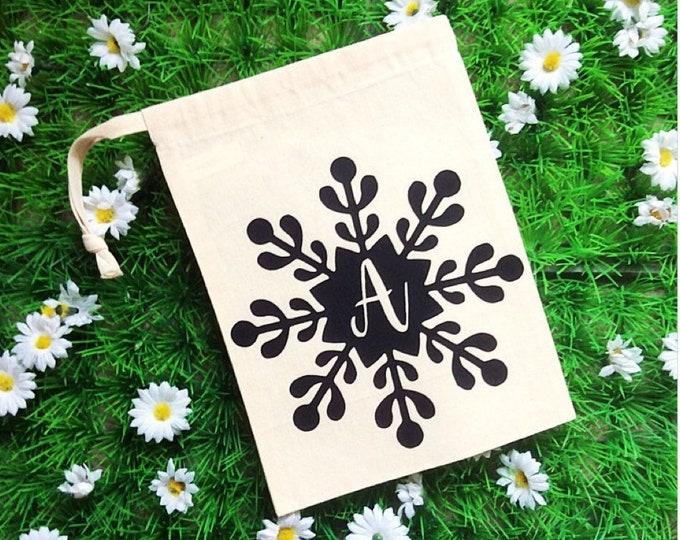 Featured listing image: Christmas Mini Snowflake Favour Bag