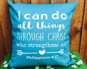 Philippians 4.3 Cushion Cover