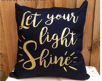 Let Your Light Shine Cushion Cover