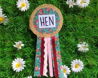 Ribbon Rosette Badges