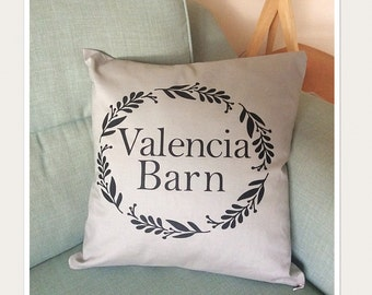 Family House Name Cushion Cover
