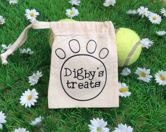 Personalised Pet Treat Bag