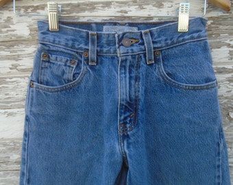2a53b5c8dc5 16 Rare Distressed Levis Strauss Levi Denim Jeans Pants | Size 12 Slim  Ripped Rock Country Thrashed Trashed | Cotton