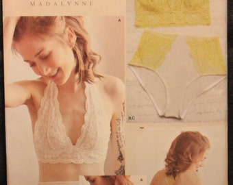 Simplicity Pattern 8228 Madalynne Flanigan Designs Misses  Soft Cup Bras  and Panties All Sizes e71bb9c24