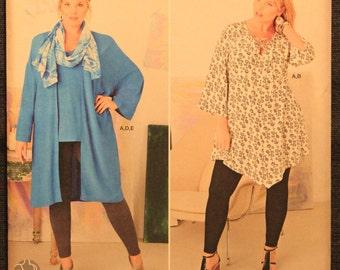 353d27b7784 Simplicity Pattern 8097 FF Plus Size Women s Tunic or Top
