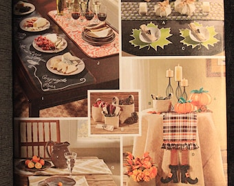 Simplicity 1343   Autumn Table Accessories
