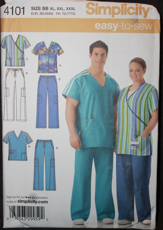 6700efda185 Simplicity Pattern 4101 BB Easy to Sew Plus Size Women's | Etsy