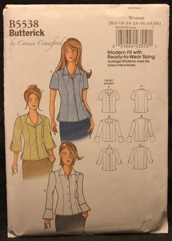 Misses//Womens Jacket /& Pants  XSM-6X Butterick B6533 Connie Crawford PATTERN