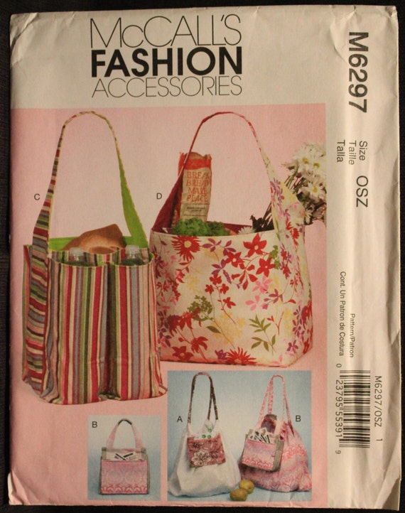 Simplicity Accessories Easy Sewing Pattern 8149 Tote Bags /& Dog Travel Be...