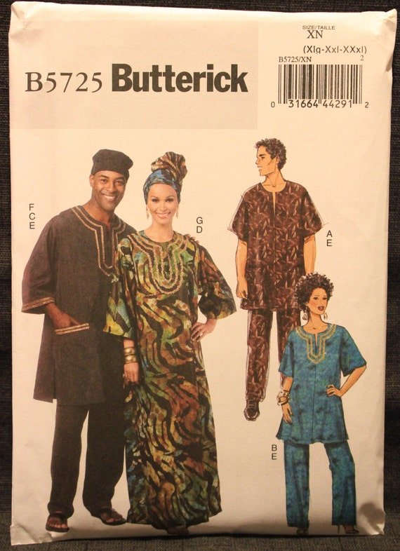 Butterick 5954 Sewing Pattern Knit Top Tunic Package Wear Size XS to 2XL UNCUT