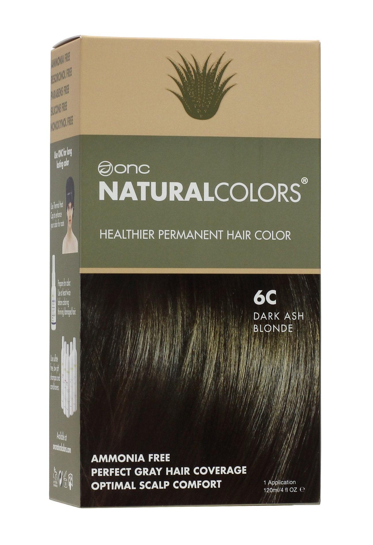 ONC NATURALCOLORS 18C Dark Ash Blonde Hair Dye with Organic   Etsy