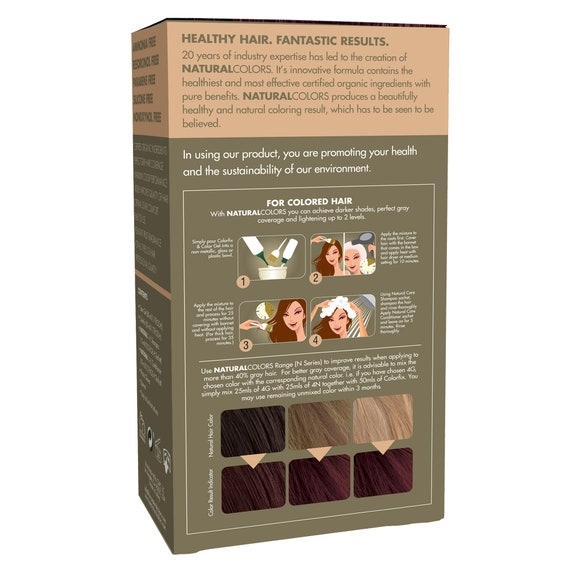 ONC NATURALCOLORS 4N Natural Medium Brown Hair Dye with Organic Ingredients
