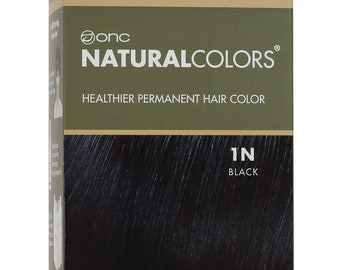 ONC NATURALCOLORS 1N Natural Black Hair Dye with Organic Ingredients