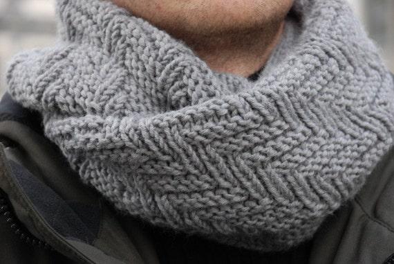 Schal stricken Farbe Loop Schal Hals wärmeren gestrickte Kreis | Etsy