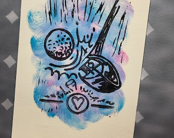 """1-10 Topgolf Cares """"Tee Time"""" limited edition prints #1-10"""