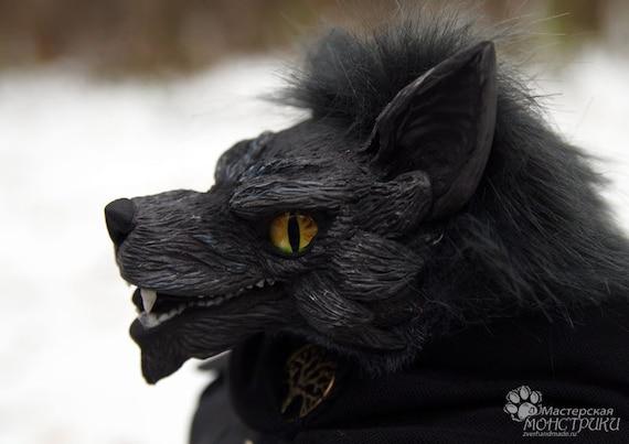 Wolf Anthro For Order Werewolf Art Doll Ooak Toy Etsy