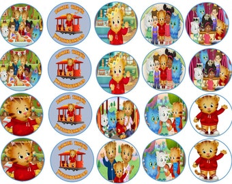 Daniel Tiger Edible Images Cupcake, Cookie Toppers