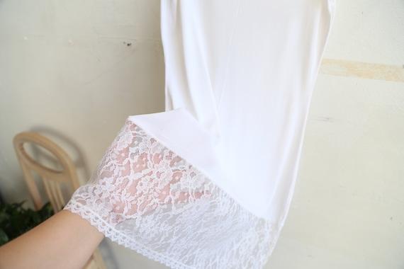 Vintage Soviet girls teens underwear petticoat wh… - image 6