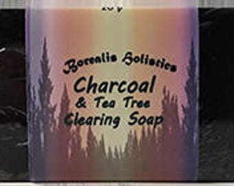 Activated Charcoal with Tea Tree Soap