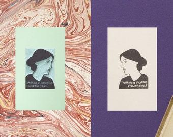 Virginia Woolf Stamp