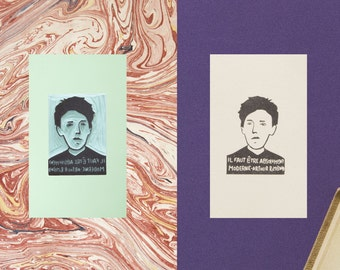 Arthur Rimbaud Stamp