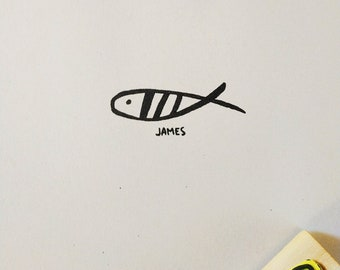 Bookplate Fish