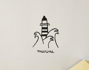 Bookplate Lighthouse