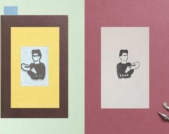 Bookplate Frida