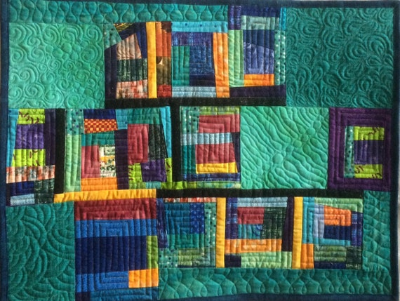 Abstract Art Quilt Wall Hangings