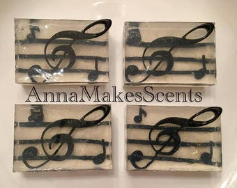 Musical notes Soap