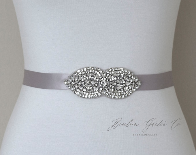 Bridal Belt, Bridesmaid Belt, Floral Rhinestone Bridal Sash, Beaded Bridal Sash, Wedding Belt, Wedding Sash Rhinestone Sash 44