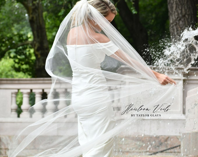 Wedding Veil, Bridal Veil Veil, Multiple Lengths and Colors, Customized Wedding Veil SC