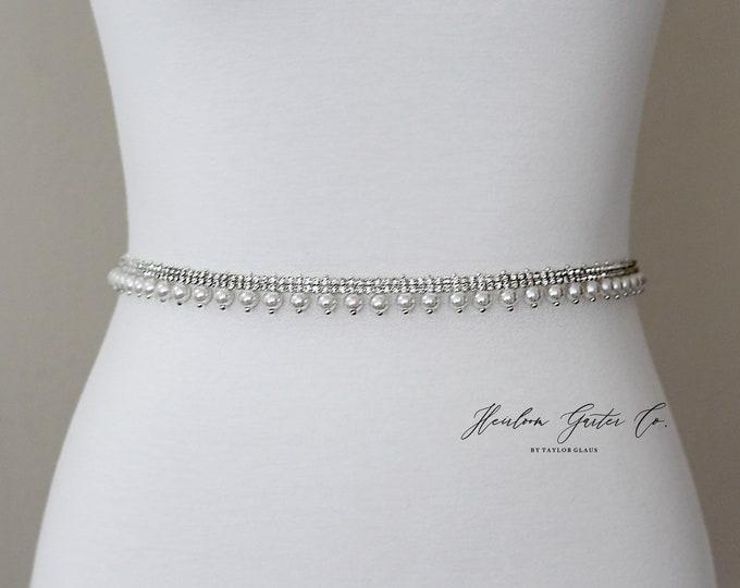 Pearl Bridal Belt, Prom Belt, Rhinestone Bridal Sash, Beaded Bridal Sash, Wedding Belt, Wedding Sash Rhinestone Sash B94S