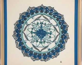 Nina Cool Quilled Mandala