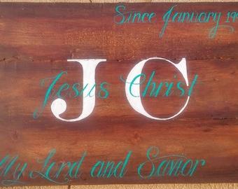 Jesus Christ Salvation sign, Christian Signs