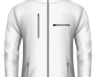 Mercedes AMG Women Softshell Waterproof Hooded Jacket more Colors and Sizes