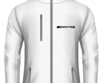 Mercedes AMG  Softshell Waterproof Hooded Jacket more Colors and Sizes