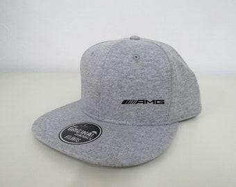 Mercedes AMG Cap Hat, custom embroidered logo, motorsport racing style